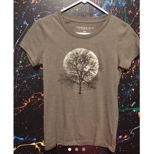 "Aero ""moonbeams dark nights nature's dream"" tshirt"